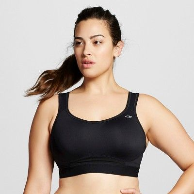 febdfd2e85 Women s Plus Size Power Core® Compression MAX High Support Sports Bra - C9  Champion® Black 4X   Target