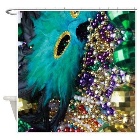 Carnival Spirit Of Mardi Gras Shower Curtain On CafePress