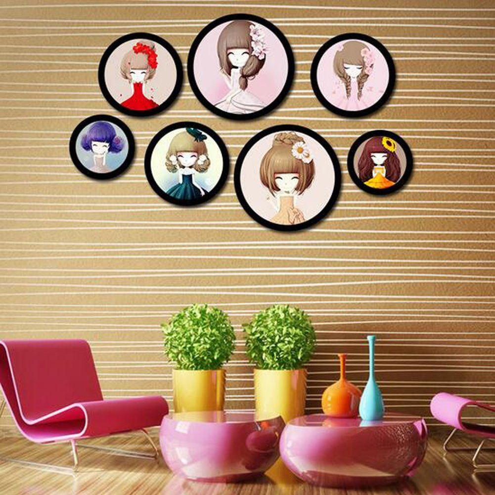 Homieco™ DIY Hanging Multi Picture Photo Frames Living Room Photo ...