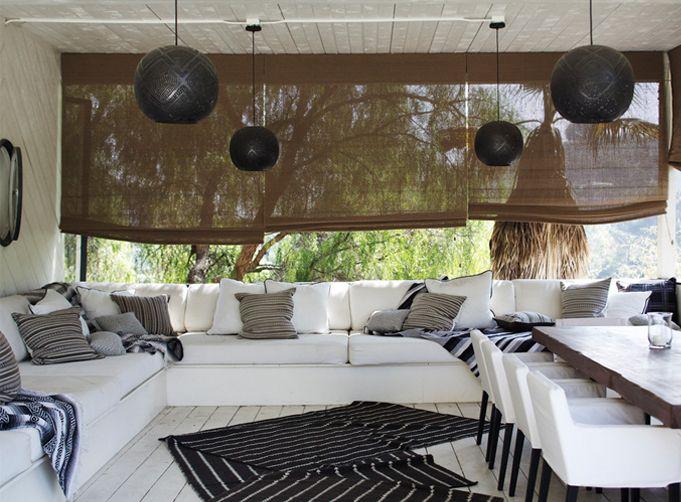 As 25 melhores ideias de cortinas enrollables no pinterest for Estores para la cocina