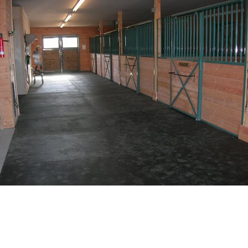 Straight Edge Rubber Pebble Top Horse Stall Mats Gym Horse Stalls Stall Matting Stall Mats Horse