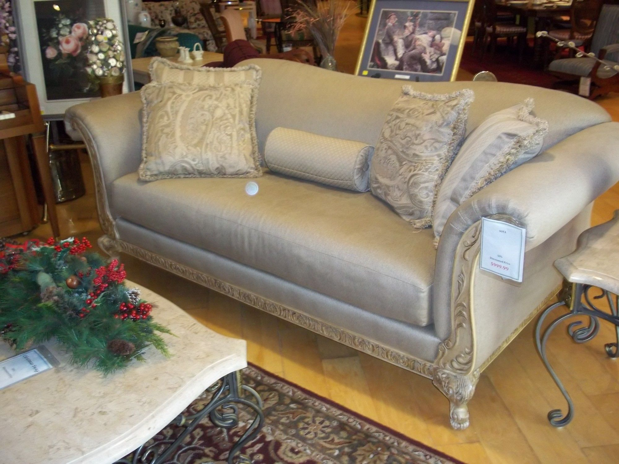 Used Schnadig Furniture 10947 Sofa 999 99