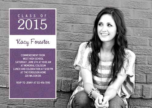 Graduation invitation time Check out whats new Its In The