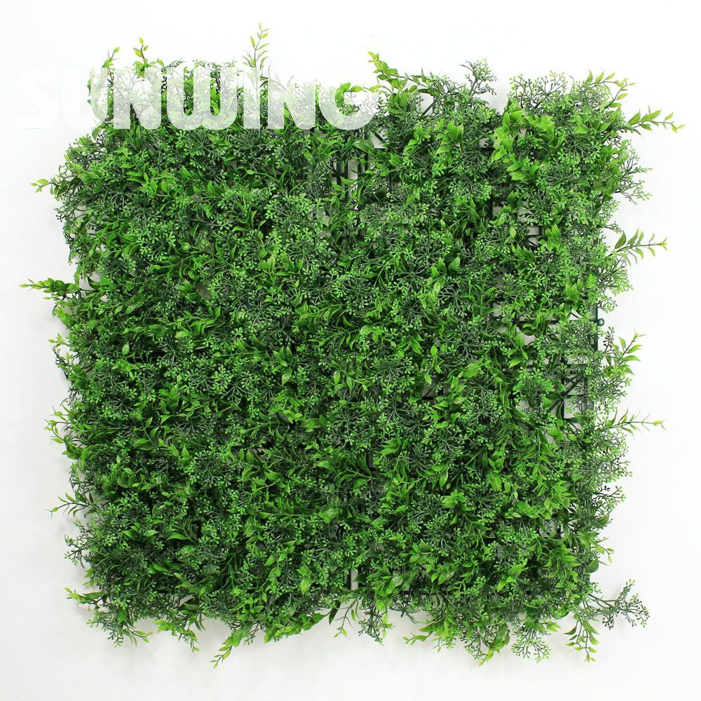 Decorative garden ornaments - 1 Sqm Decorative Garden Green Fence Uv Plastic Plants Barrier Covering Mat Artificial Boxwood Hedges Panels Garden Ornaments