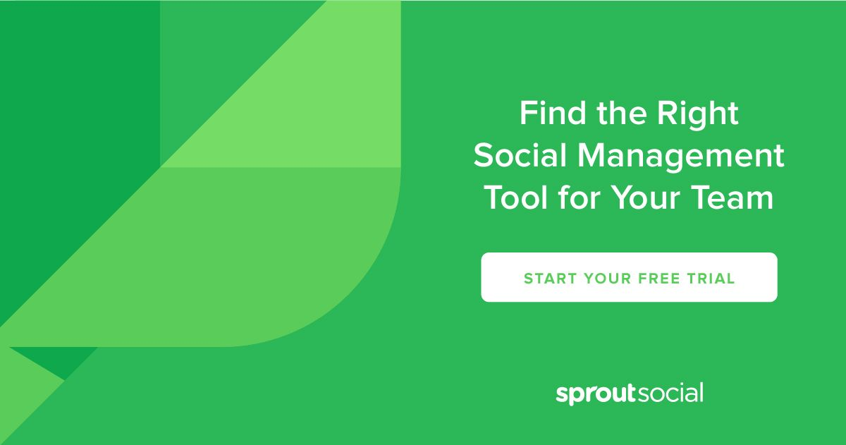 Sprout Social Provides Media Management Tools For Small Business Agency And Enterprise Premium Pricing Starts At 99 A Month Try It Free