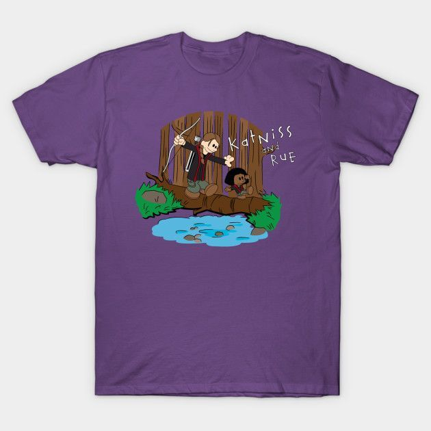 Katniss And Rue - Mens T-Shirt