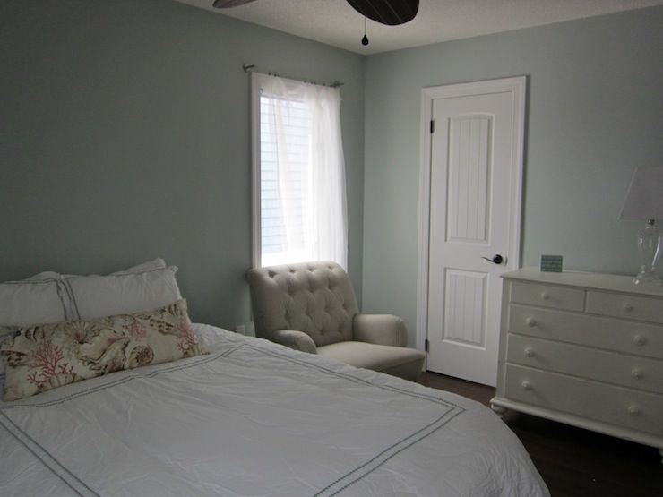 Benjamin Moore Quiet Moments Bedroom Home Decor