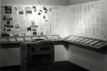Parastou Forouhar, Dokumentation, installation view, Schirn Kunsthalle, Frankfurt, 2001, Courtesy Parastou Forouhar http://courses.washington.edu/femart/final_project/wordpress/laurens-test-post/
