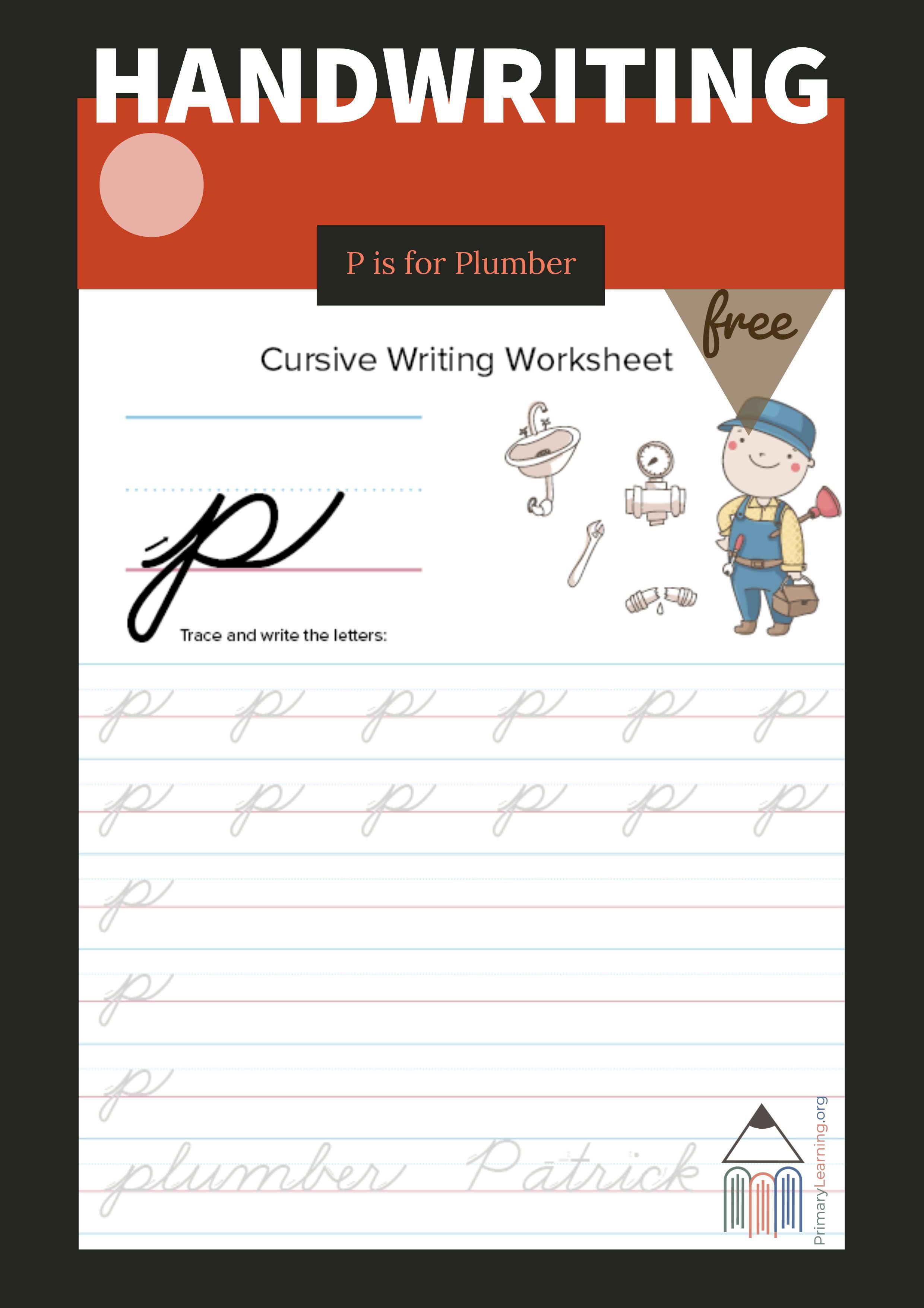 Lowercase Cursive P Worksheet Primarylearning Org Cursive P Cursive Writing Worksheets Lowercase Cursive Letters [ 3509 x 2480 Pixel ]