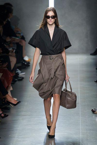Bottega Veneta at Milan Fashion Week Spring 2014 - StyleBistro 5f60156120947