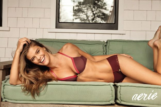 17532cc480 Nina Agdal: Aerie Holiday AW12 Lingerie Collection | Products I Love ...