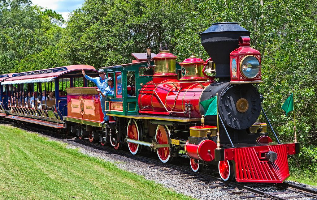 Train Parts Names : Trains are part of the wdw railroad each train has