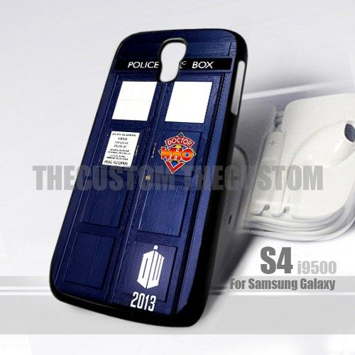 Doctor Who Police Box Diary Design for Samsung Galaxy S4