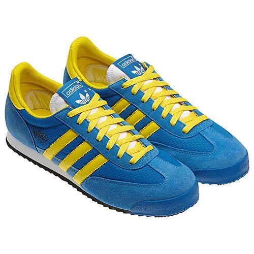 Individualidad Denso Mariscos  Comprar > adidas dragon azules amarillo