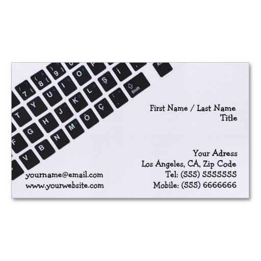 Computer business card business cards card templates and business computer business card fbccfo Choice Image