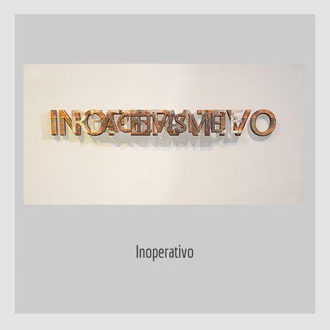 Inoperativo.  YENY CASANUEVA Y ALEJANDRO GONZÁLEZ. PROYECTO PROCESUAL ART.