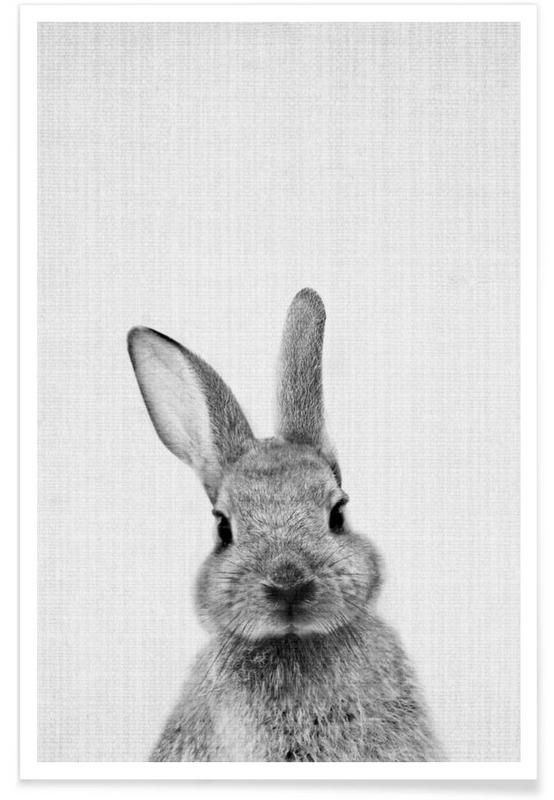 Print 48 en Affiche premium par Lila x Lola | JUNIQE24 | bunny ...