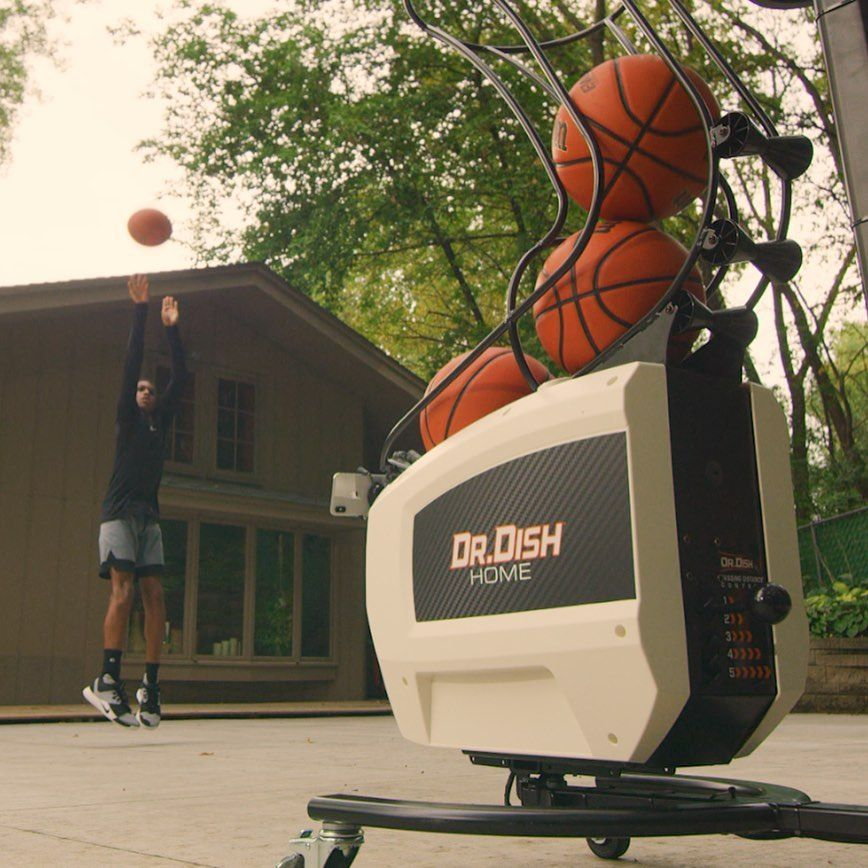 Basketball Shooting Machine For Home Dr. Dish in 2020