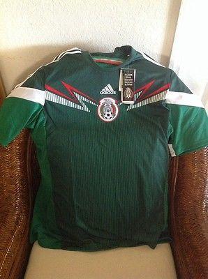 Messico Adidas Climacool El Tri Di Nuovo Tbol Con Tag F Ú Tbol Nuovo / Calcio Jersey Sz 2da1e7