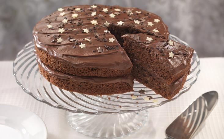 Stork Chocolate Fudge Cake A Food Shot 310113