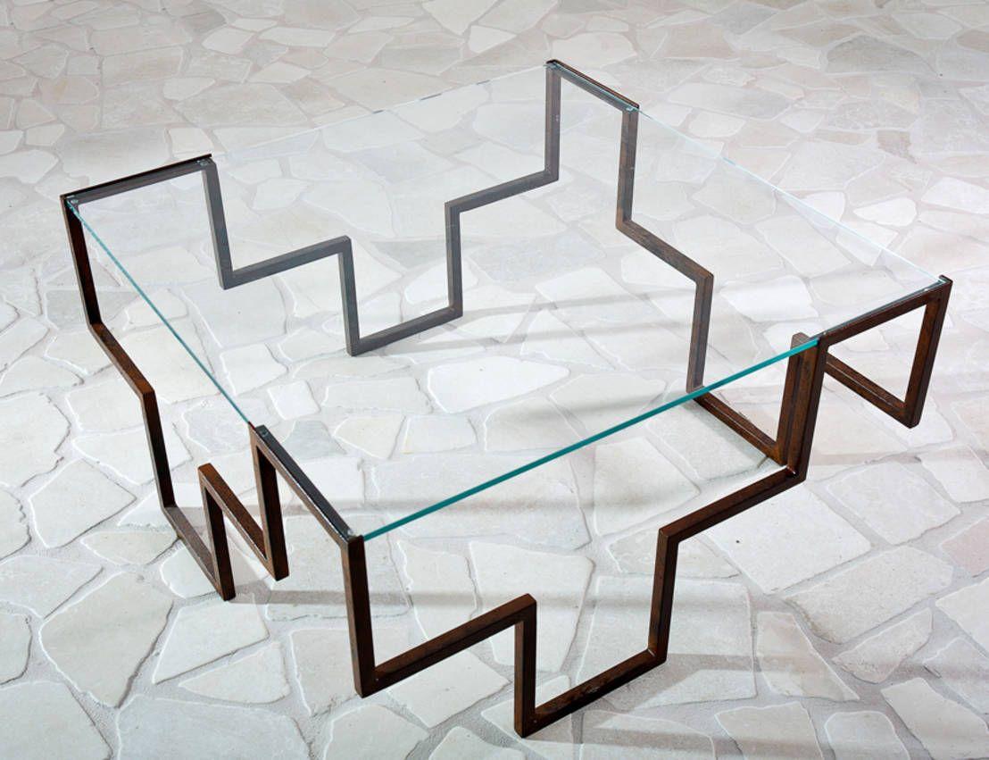 Iron age la nuova era dei tavoli in ferro battuto for Tavoli di design in ferro