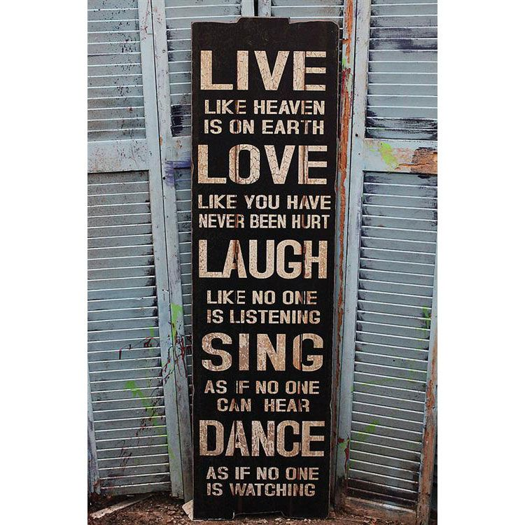 Love Plaques Quotes Glamorous Live Laugh Love Wall Plaque  Dotandbo Well Said.well