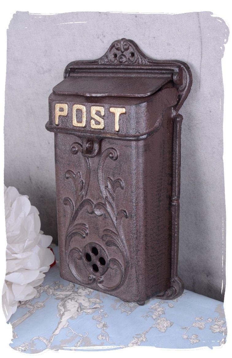 Nostalgischer Briefkasten Postkasten Türdeko Landhausstil Antikstil