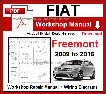 Fiat Freemont Workshop Repair Manual Download Repair Manuals Fiat Mazda