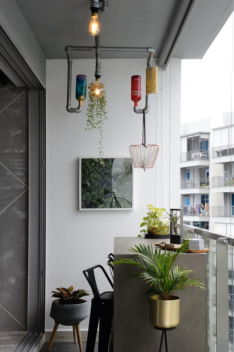 Small Condo Dining Room Ideas: 10 Singapore Homes That Show How Useful A Balcony Can Be