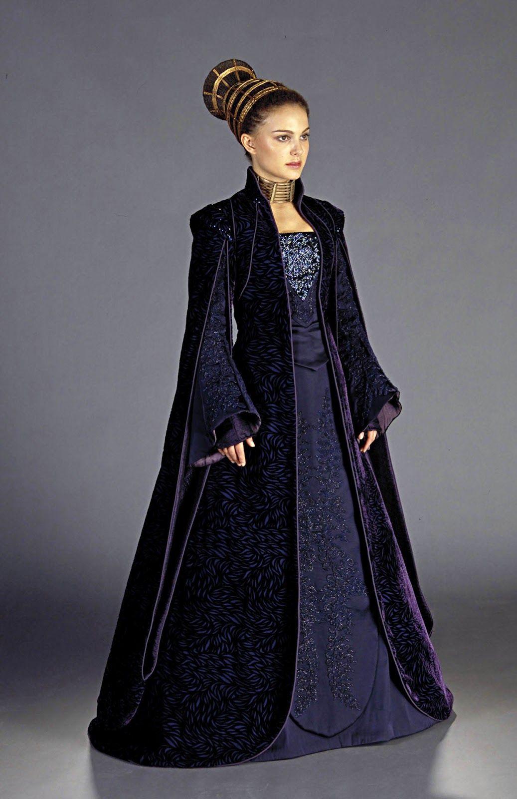 Senator dress for Padme Amidala, worn by Natalie Portman in Star Wars: Episode II.