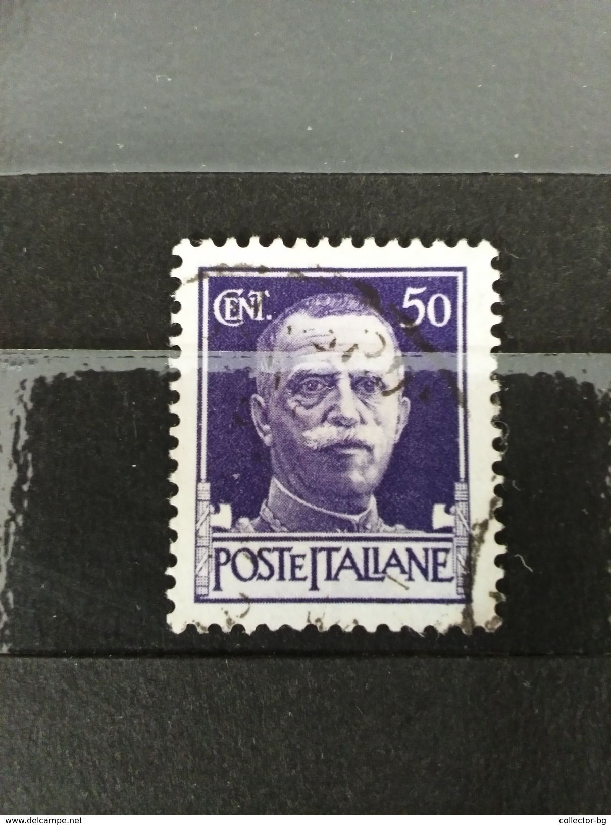 Rare 50 Cent Italy Italiane Postes Used Mint Stamp Timbre Item Number 423153029 Rare