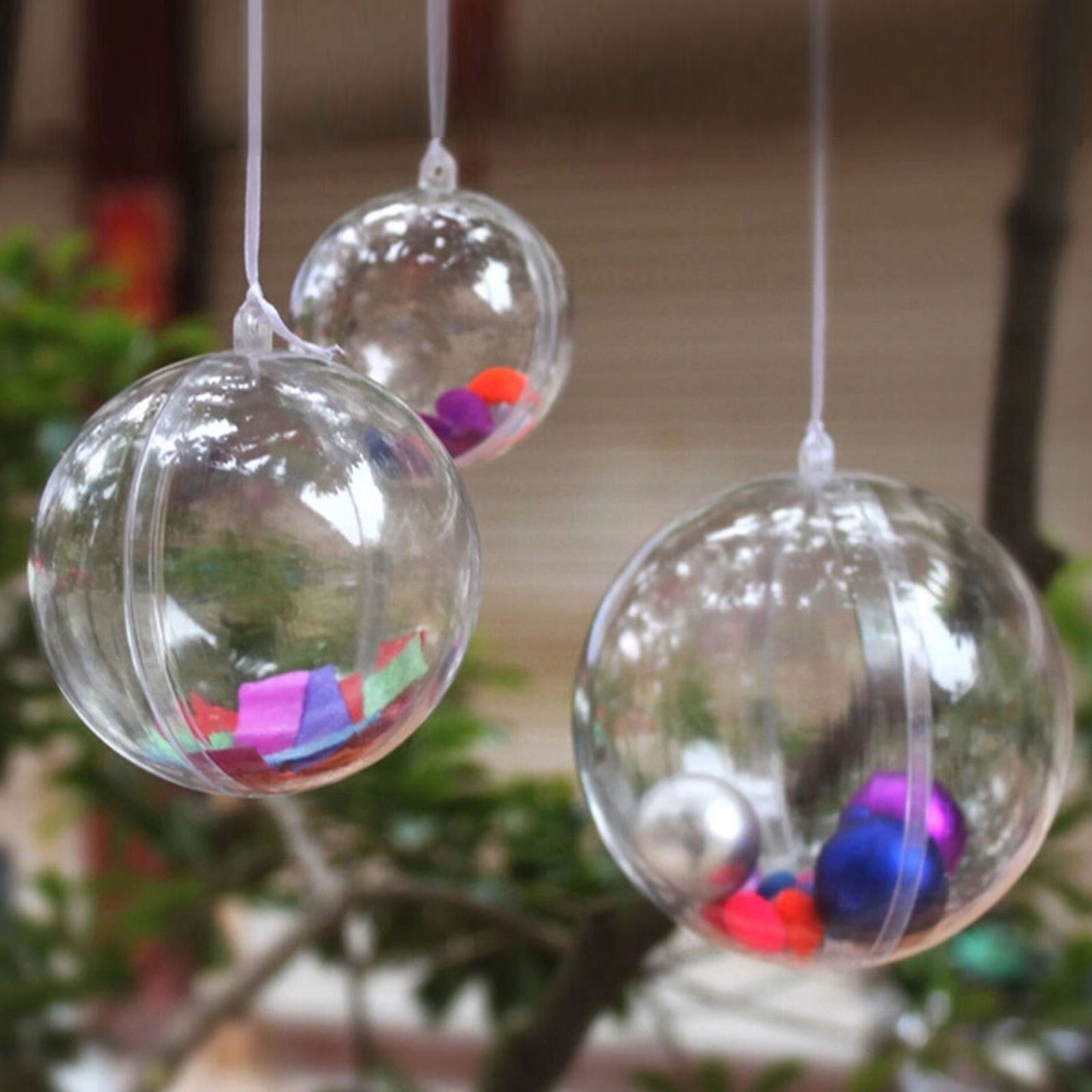 31++ Clear plastic christmas ornaments inspirations
