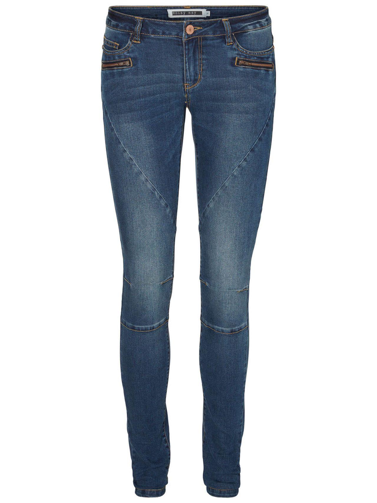 Low waist skinny jeans dames