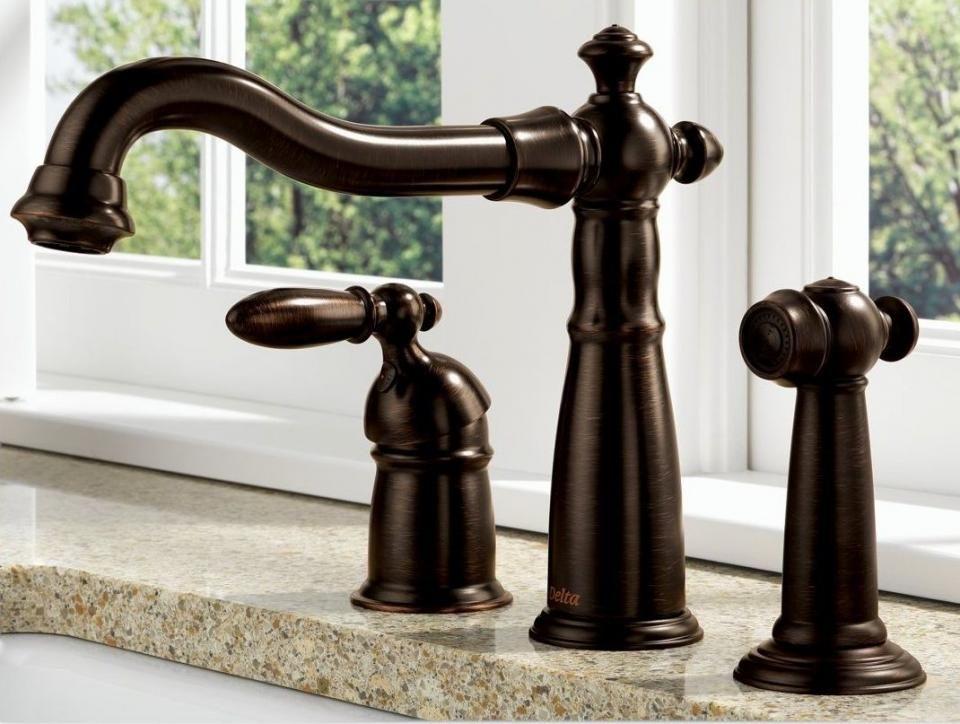 Delta Kitchen Faucets For Excellent Quality Kitchen Set Bronze Kitchen Faucet Kitchen Faucet Bronze Bathroom Faucets Rubbed bronze kitchen faucets