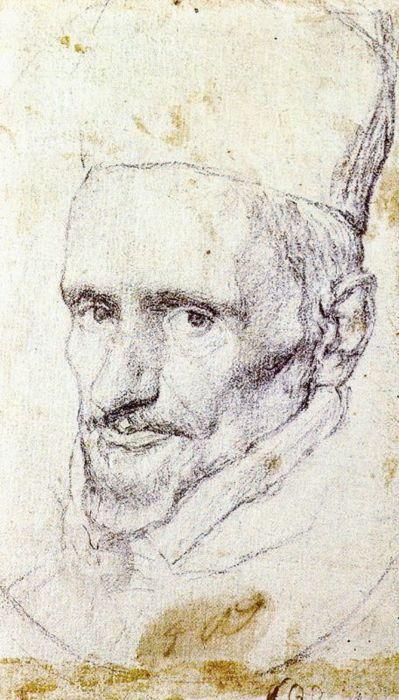 Amazing Velazquez drawing