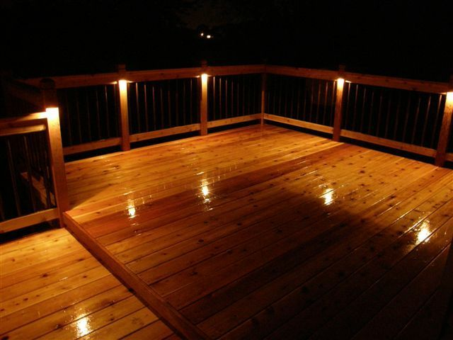 Outdoor patio lighting ideas enhance your new deck with recessed outdoor patio lighting ideas enhance your new deck with recessed deck lighting homes and garden aloadofball Choice Image