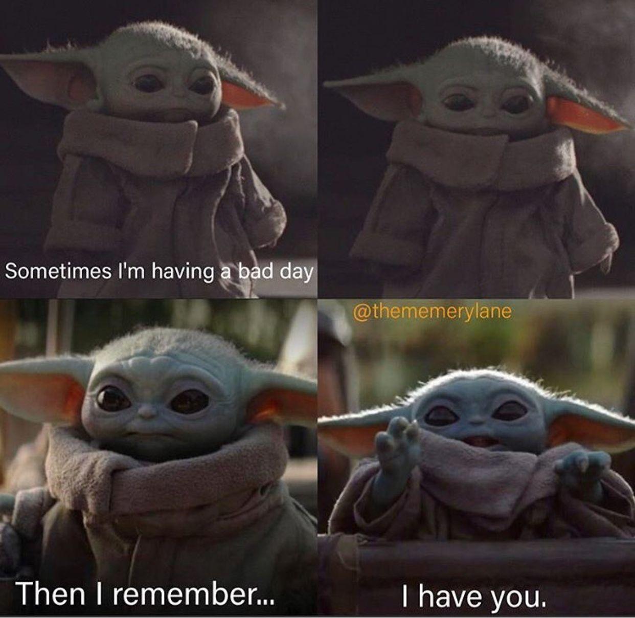 Pin By Alice Perritt On Baby Yoda Yoda Funny Funny Star Wars Memes Yoda Meme