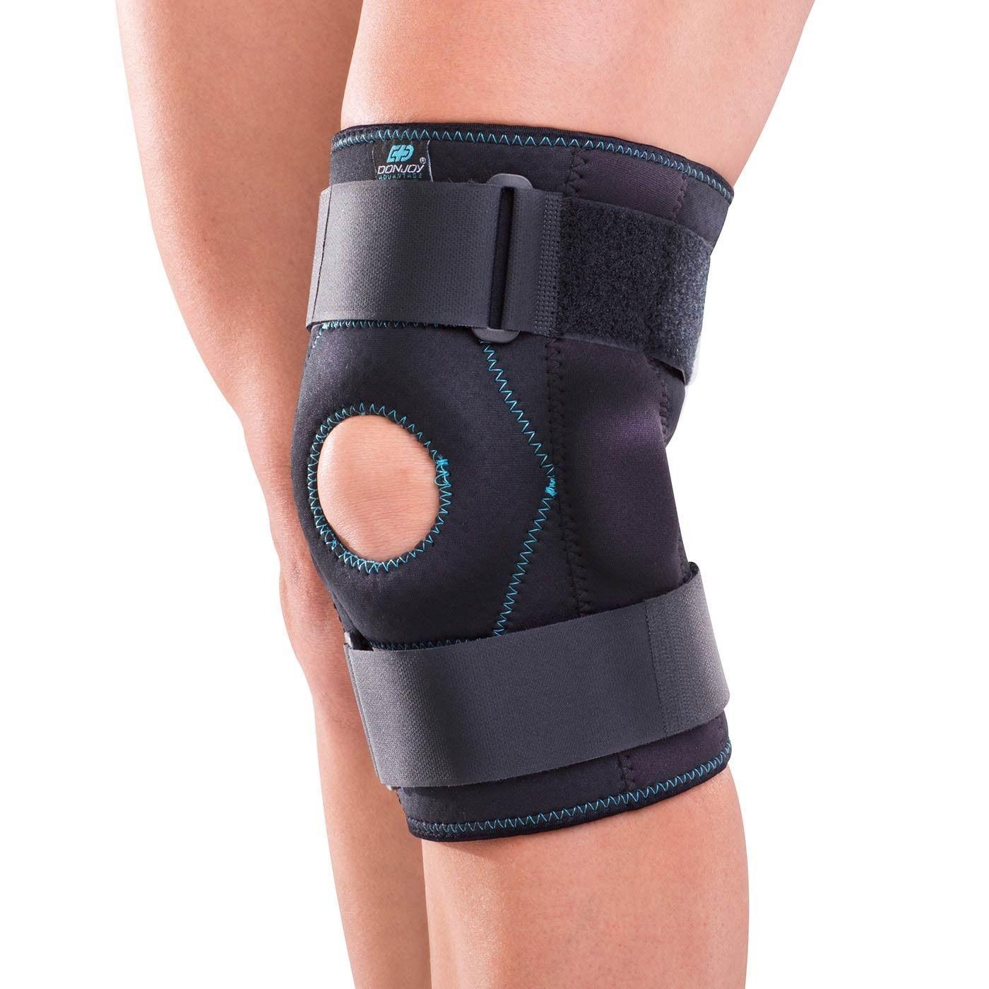 Donjoy advantage stabilizing hinged knee wrap knee wraps