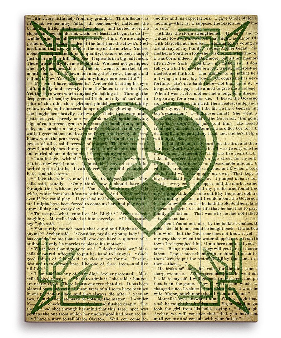 Look at this Celtic Trinity Knot Heart Wall Art on #zulily today ...