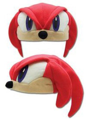 Amazon Com Sonic The Hedgehog Class Knuckles Fleece Cosplay Cap Clothing Sonic The Hedgehog Costume Sonic Costume Sonic Party