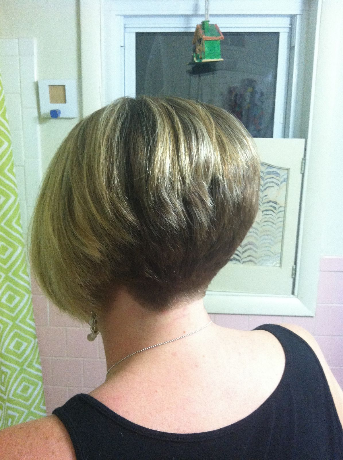 Stylish Short Hairstyles Wedge Hairstyles Stacked Pinterest