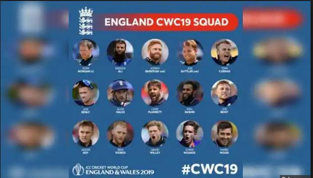 England Team Squad World Cup Squad 2019 England Cricket Team World Cup Teams England World Cup Squad