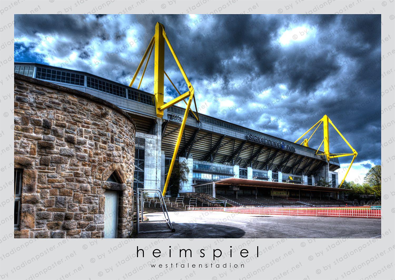 Stadionposter Net Poster Von Fussballstadion Nur Fur