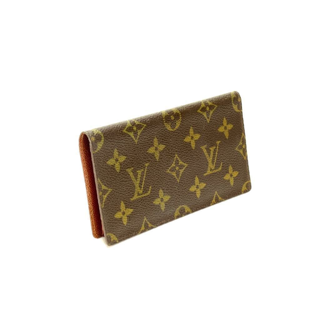 2a63850628f Louis Vuitton long checkbook or cardholder flap wallet great vintage  condition card slots inside signature monogram pattern asking  180 comment  for more ...