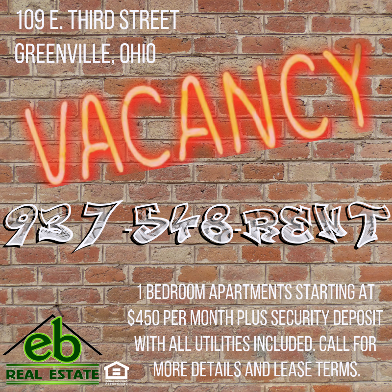 Apartments Phoenix Az First Month Free: 1 Bedroom Apartments For Rent In Greenville, Ohio! $25