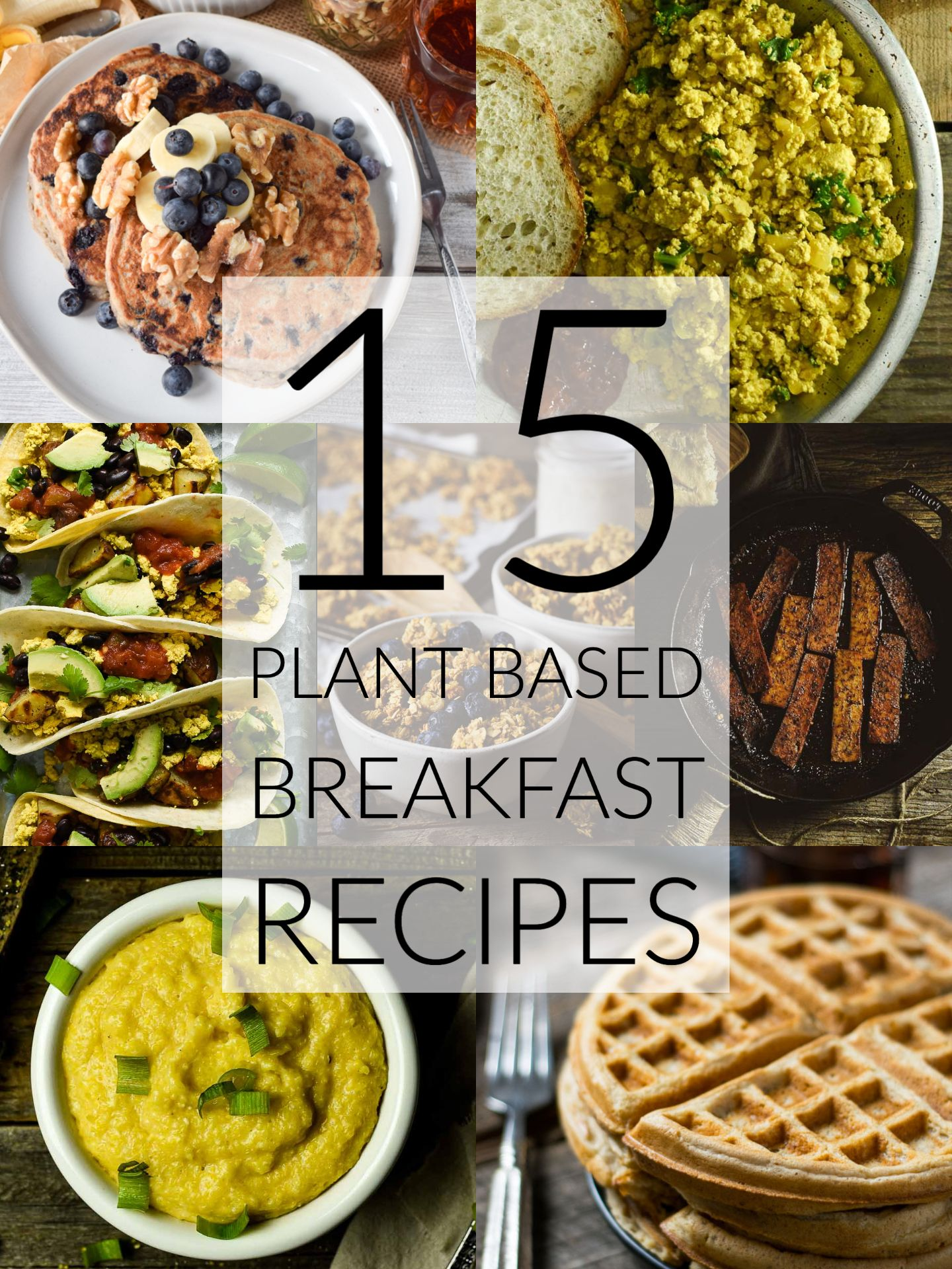 15 Easy Plant Based Breakfast Recipes That Healthy Oil Free And Delicious These Health In 2020 Plant Based Recipes Breakfast Plant Based Breakfast Breakfast Recipes