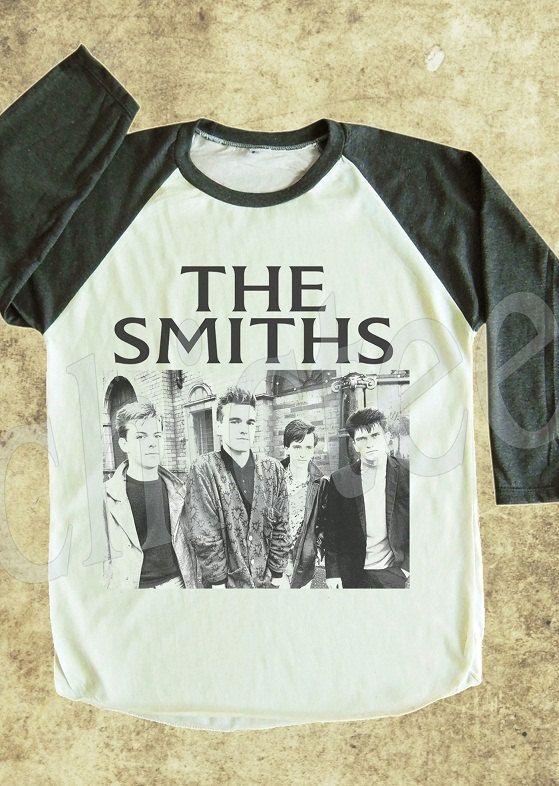 ff8e703573c The Smiths Tshirt Morrissey Tshirt women tshirt unisex tee raglan tee  baseball shirt 3 4 long sleeve t shirt size S M L on Etsy