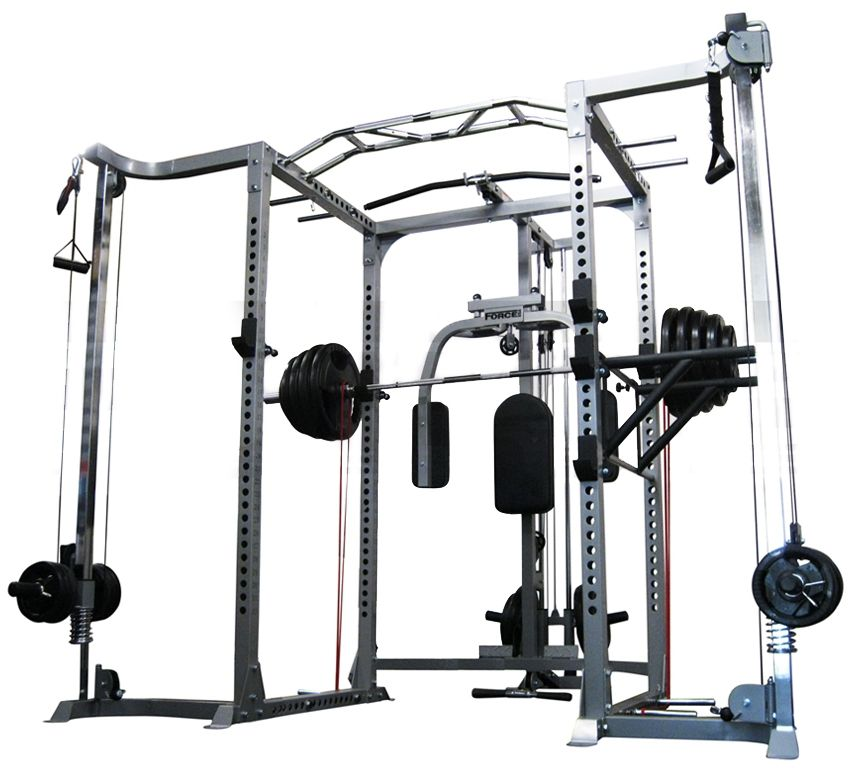 Beautiful 200 Lb Home Gym