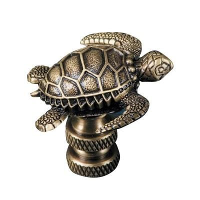 Mario Industries Sea Turtle Lamp Finial B365a The Home Depot Con Imagenes Tortugas