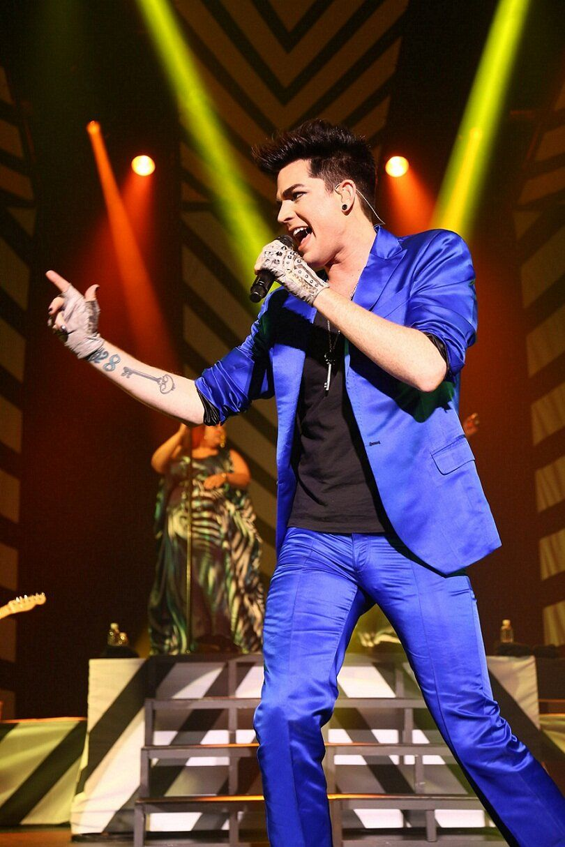 Lightening blue rocker adam lambert pinterest adam lambert